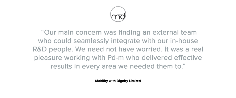 Mobility with Dignity testimonial