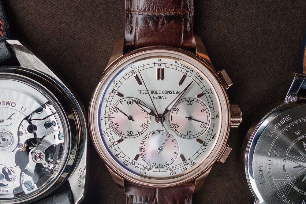 Despite the smartwatch, the clock hasn't stopped for mechanical watches  — May, 2017