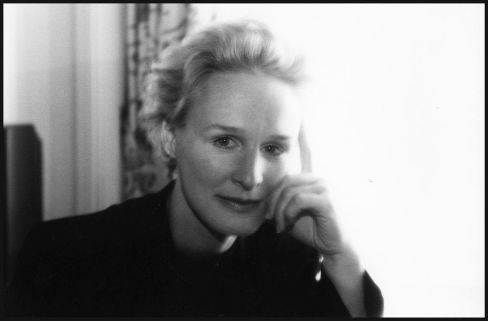 Glenn Close | Hotel Raphael Paris 1991 | Photo sandrine cohen
