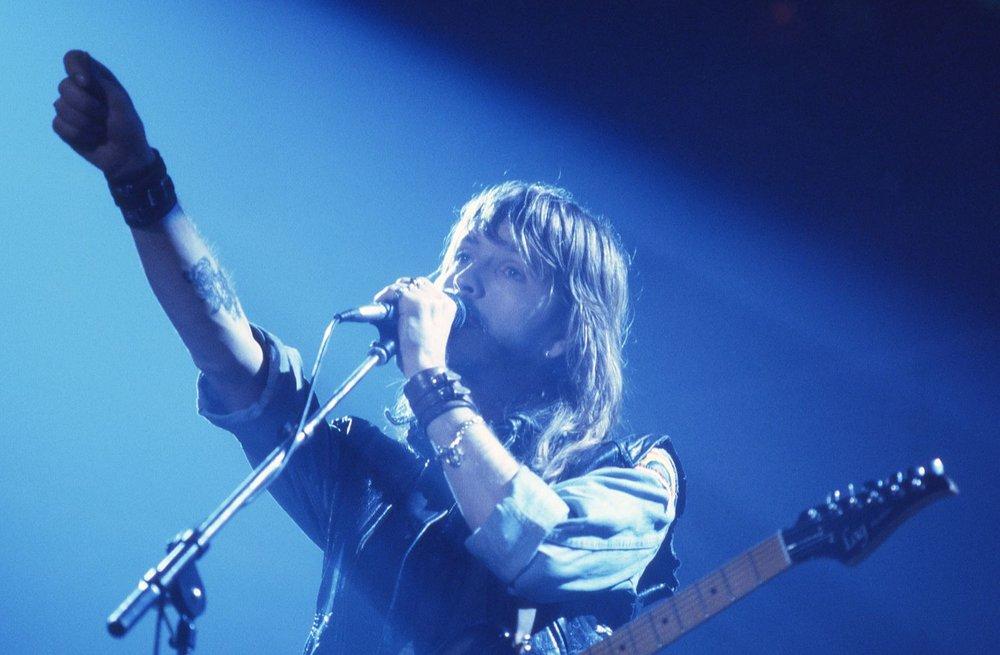 Renaud 1984 | Concert | Lausanne | photo sandrine cohen