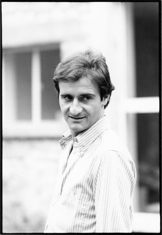 Pierre Lescure - 1980 |  Photo Sandrine Cohen