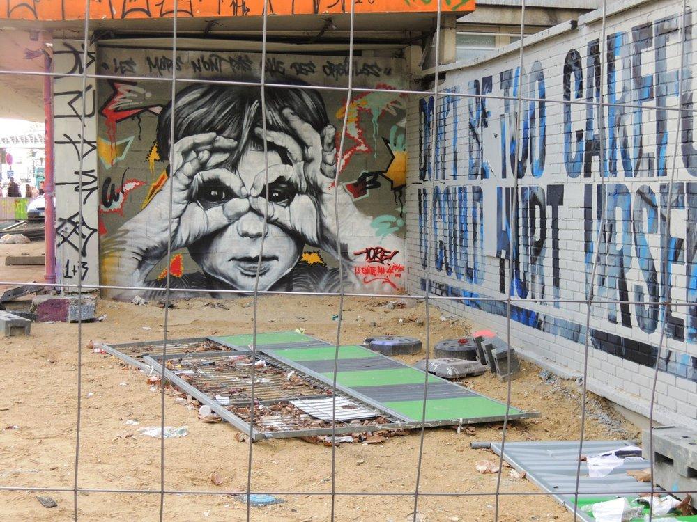 Paris 13e | Street art | La Tour 13 | Galerie Itinerrance | Mehdi Ben Cheikh | artist Tore |