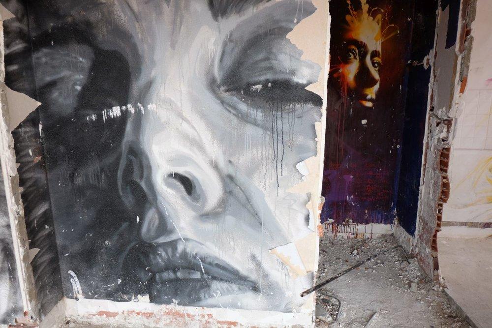 Paris 13e | Street art | La Tour 13 | Galerie Itinerrance | Mehdi Cheikh