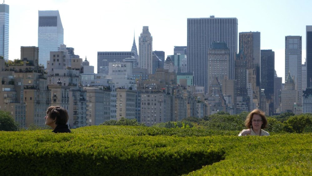 New York | On the roof of the MET | Metropolitan Museum of Art | Skyline on Central Park | photo sandrine cohen