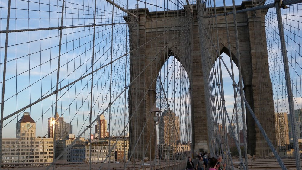 New York | Brooklyn bridge architecture | photo sandrine cohen