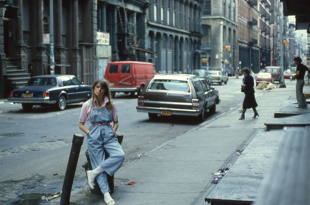 Manhattan | New-York | Prince street in 1980 | Katherine Pancol | Argentic photo bysandrine cohen