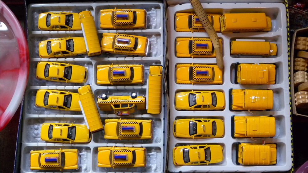 New York | Yellow taxis for tourists | photo sandrine cohen
