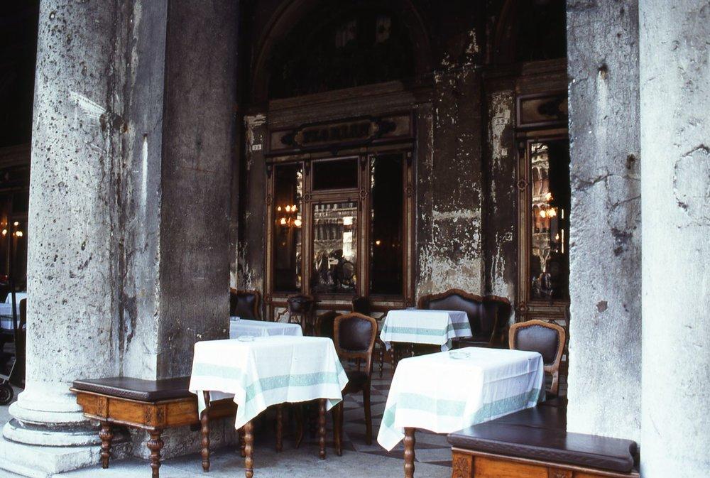 Venice | Cafe Florian terrace |Place Saint-Marc |Italy |©sandrine cohen