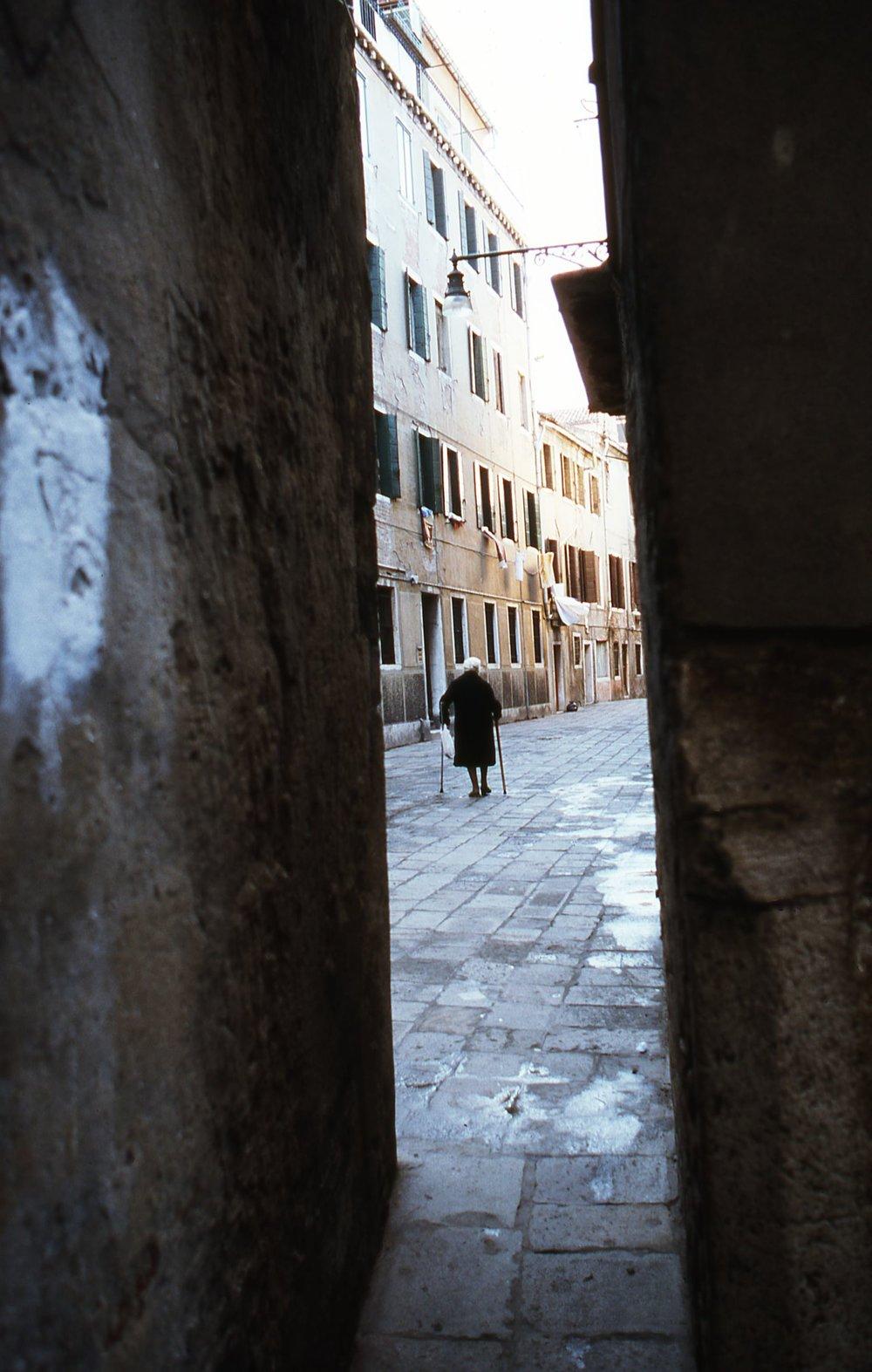 Venice | Alone in Venice | photo sandrine cohen