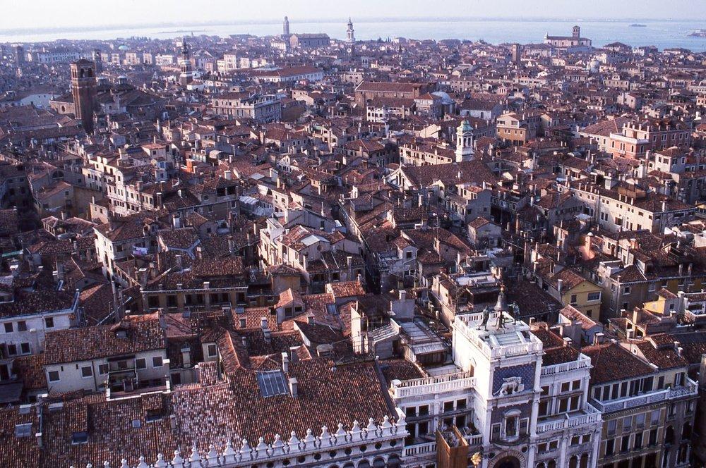 Venice |View of Venice from Campanile | photo sandrine cohen