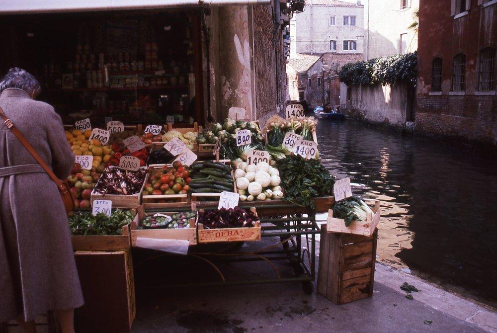 Venice | Greengrocer | photo sandrine cohen