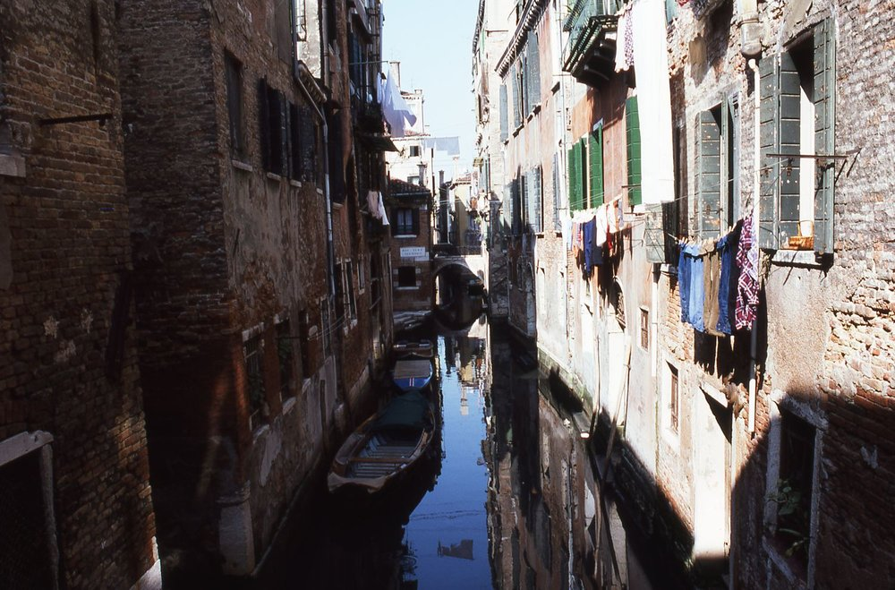 Venice | Typical houses of Venice | photo sandrine cohen