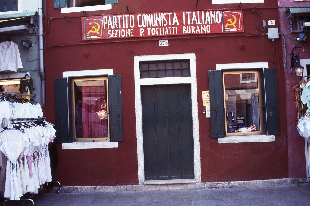 Venice | Office Italian Communist Party | photo sandrine cohen