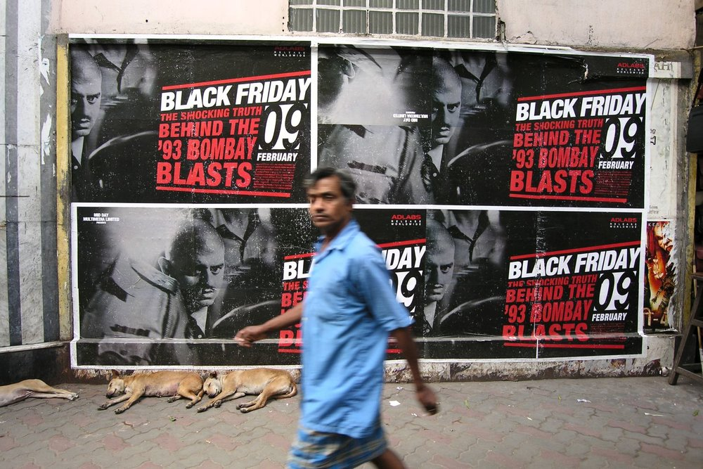 Kolkata - Calcutta | Poster movie bollywood | Black Friday movie | streetphotography sandrine cohen