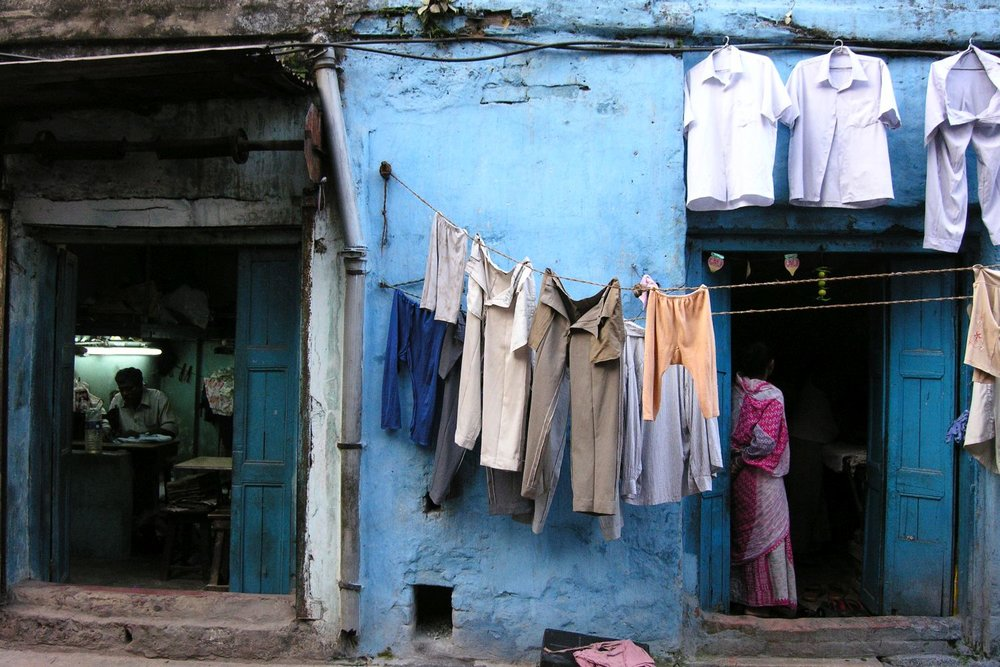 Kolkata - Calcutta | washing and ironing  | ©sandrine cohen