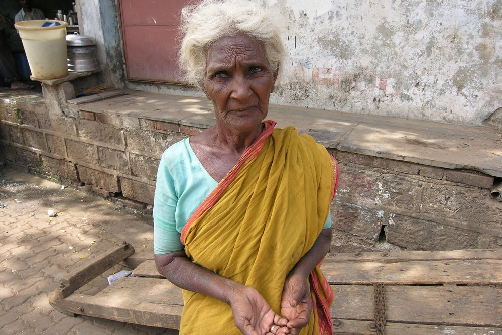 Mumbai - Bombay | Indian woman on a slum | Slum in Mumbai | ©sandrine cohen