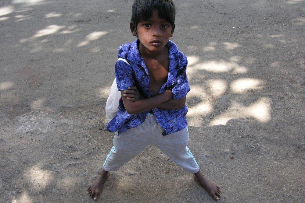 Mumbai - Bombay | Street child from Mumbai | ©sandrine cohen