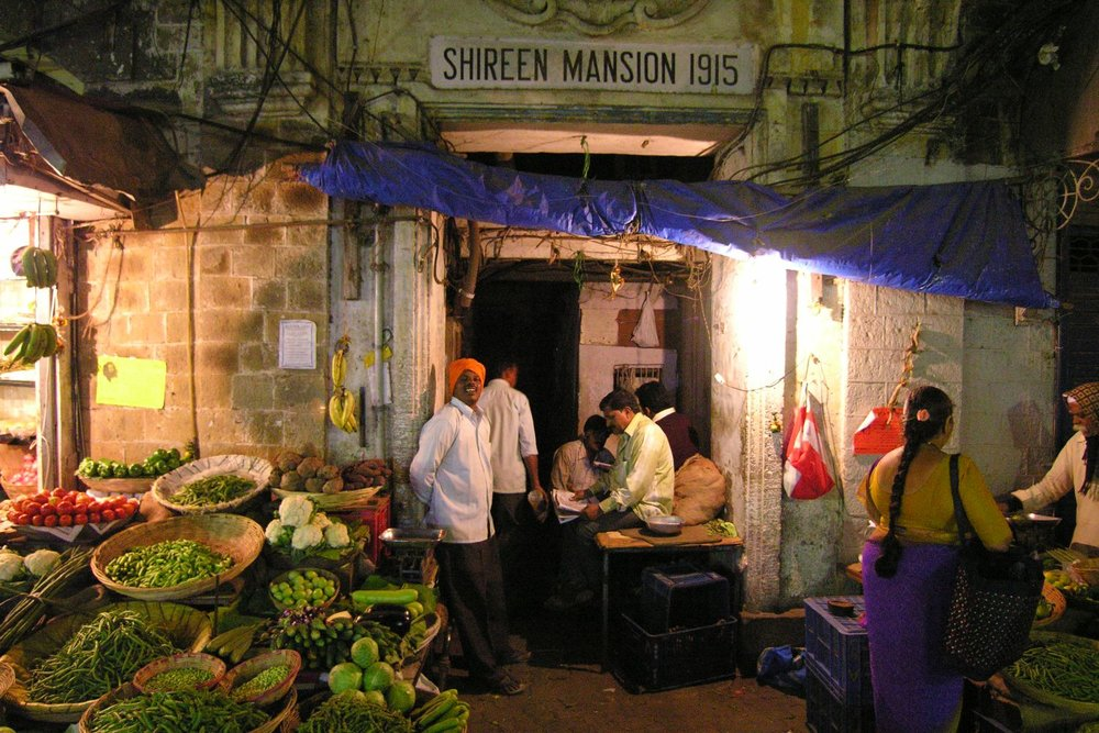 Mumbai - Bombay | Market in Mumbai | Grant road | ©sandrine cohen