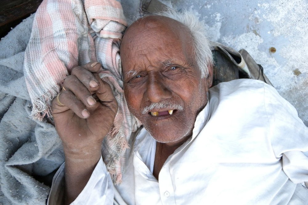 Mumbai - Bombay | Old man | Photo sandrine cohen
