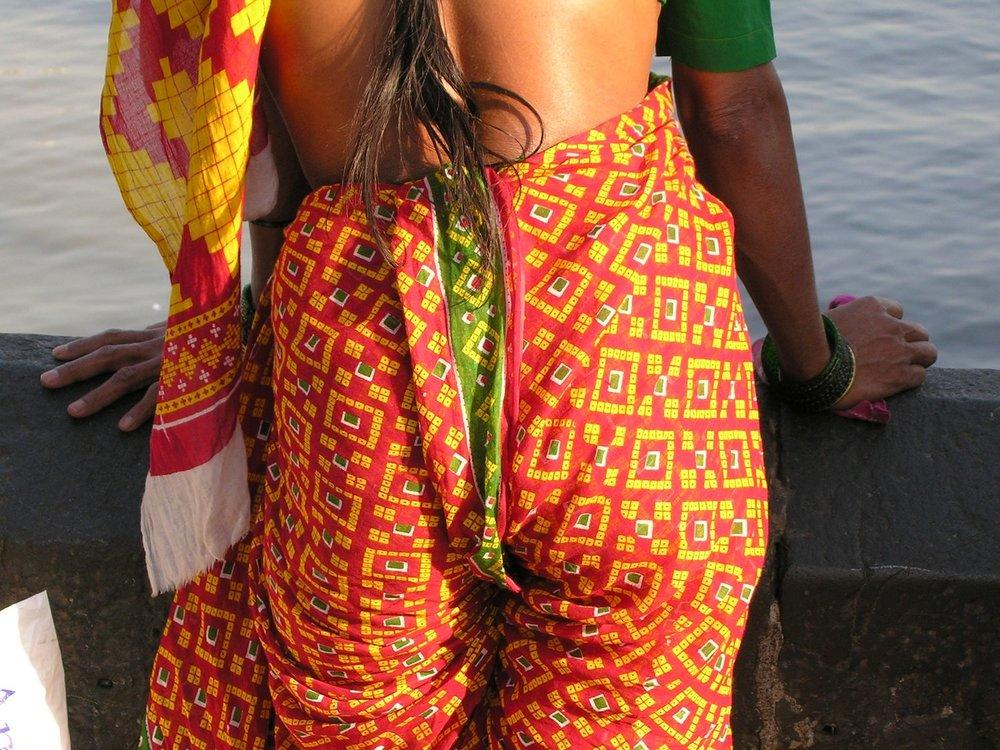Mumbai - Bombay | Indian woman trouser | ©sandrine cohen