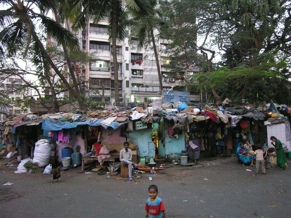 Mumbai - Bombay | Slum in Mumbai | Slum child | ©sandrine cohen