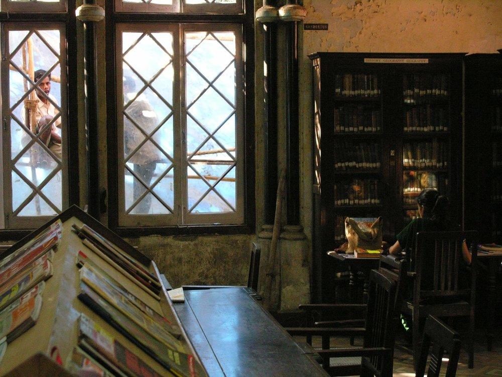 Mumbai - Bombay | David Sasson Library | Fort | ©sandrine cohen