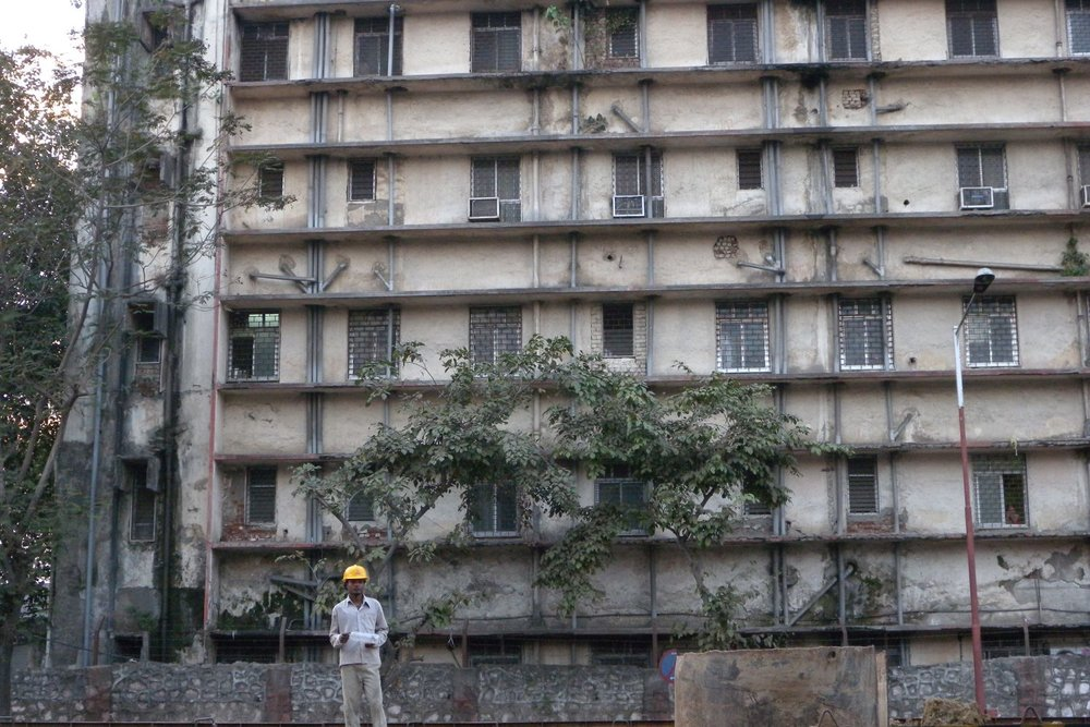Mumbai - Bombay | Indian worker on a construction site | ©sandrine cohen