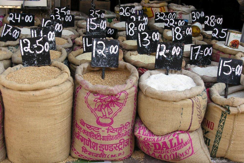 Mumbai - Bombay | Indian rice | ©sandrine cohen
