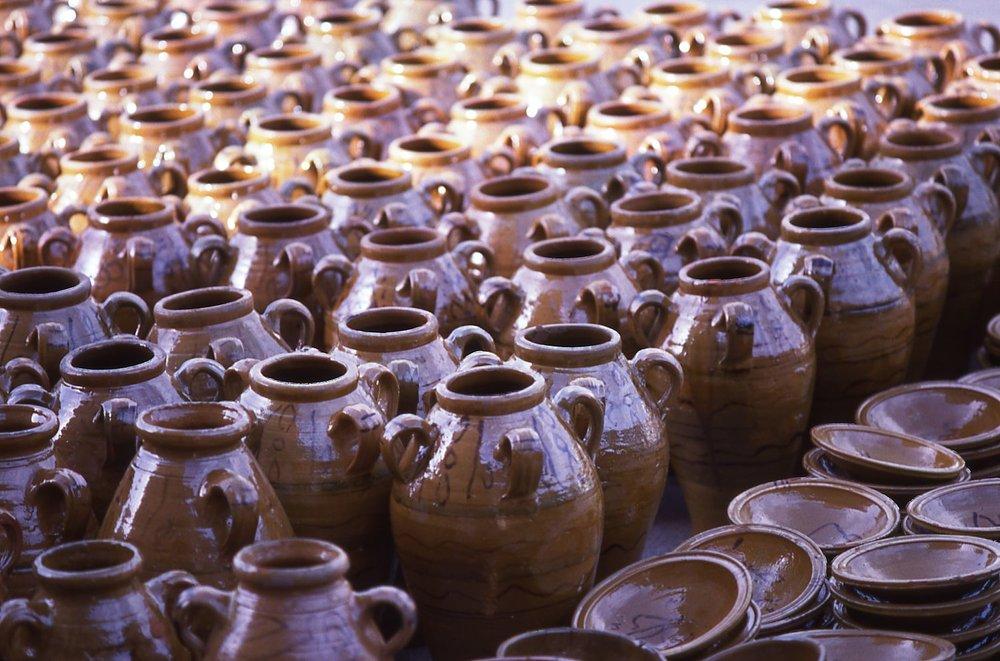 Tunisia | Nabeul | Pottery | photo sandrine cohen