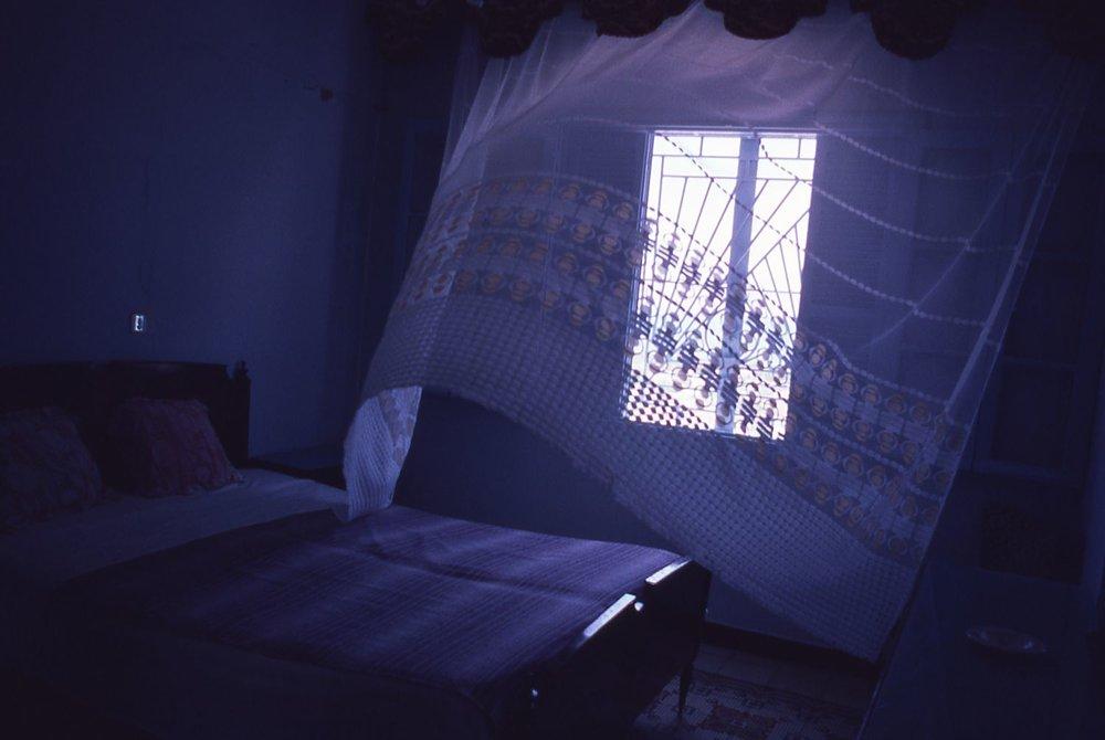 Tunisia | Bedroom in the Medina | Hammamet | photo sandrine cohen