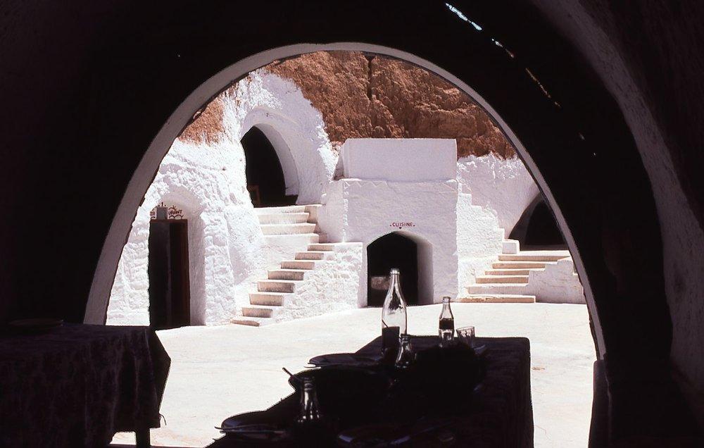 Tunisia | Matmata | troglodyte house restaurant | Georges Lucas | Star Wars | photo sandrine cohen