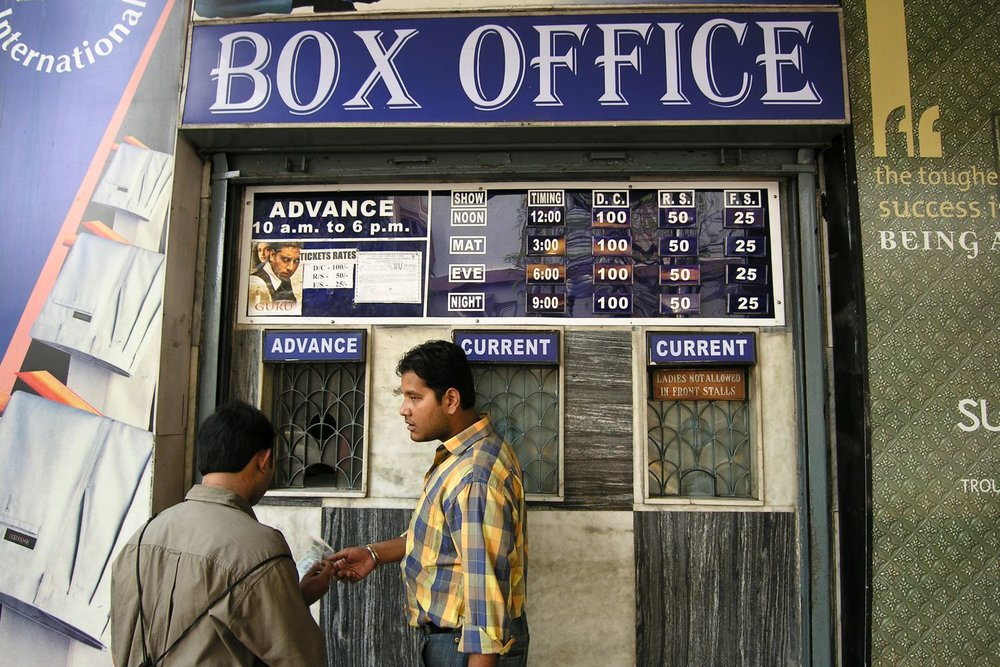 Kolkata - Calcutta | Box office | streetphotography sandrine cohen