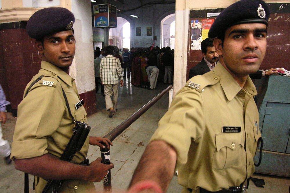 Kolkata - Calcutta   Kolkata policemen   ©sandrine cohen