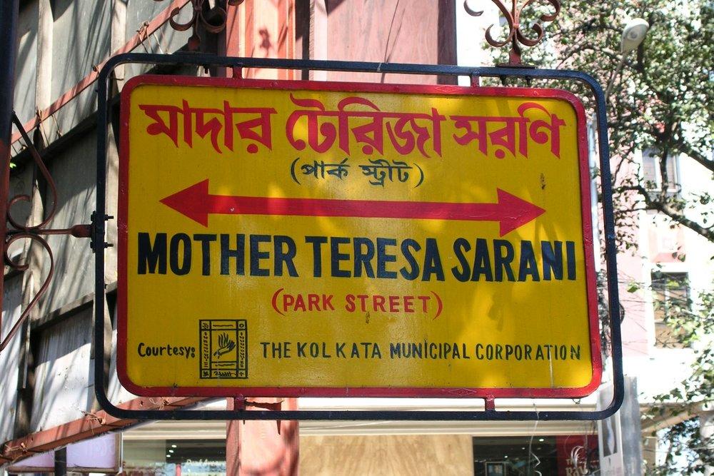 Kolkata - Calcutta   Mother Teresa Sarani   ©sandrine cohen