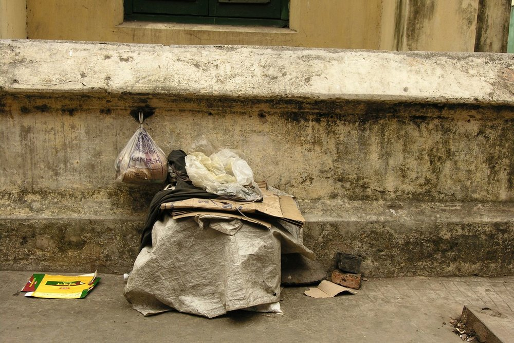 Kolkata - Calcutta | Homeless place | street of Calcutta | ©sandrine cohen
