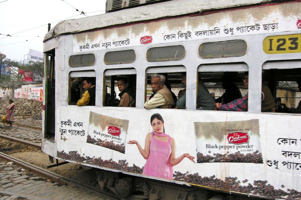 Kolkata - Calcutta   Calcutta tramway   Tramway   ©sandrine cohen