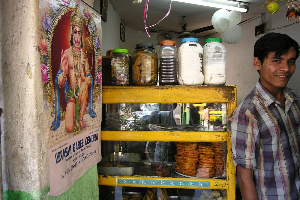 Kolkata - Calcutta | Indian street food | Food shop | ©sandrine cohen