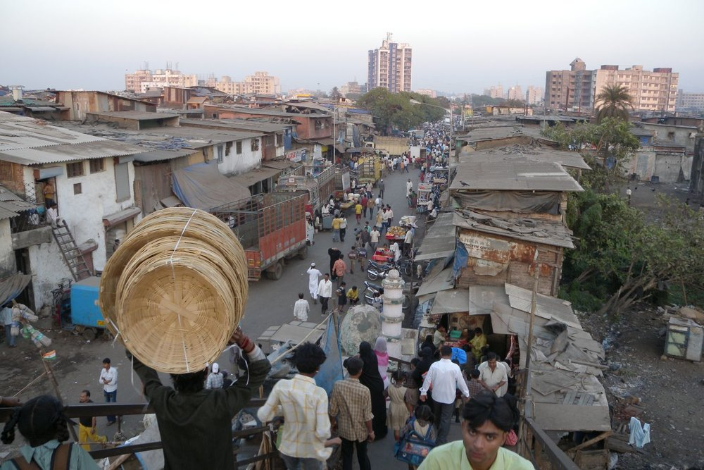 Mumbai - Bombay |  Dharavi Slum | Dharavi, the biggest slum of Asia | Over one million people live in Dharavi |©sandrine cohen