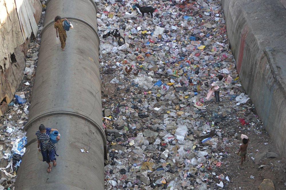Mumbai - Bombay | Slum Dharavi | Dharavi, the biggest slum of Asia | ©sandrine cohen