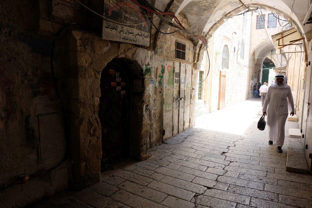 Jerusalem old city | Muslin | photo sandrine cohen