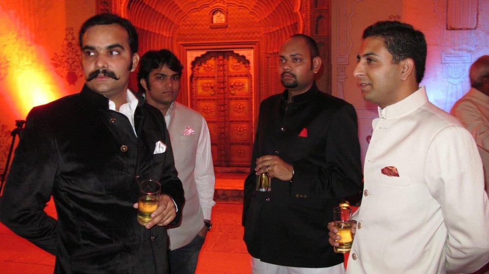 City palace of Jaipur   Jodphur jackets  Royal family   Private party   Jodphur clothes  ©sandrine cohen
