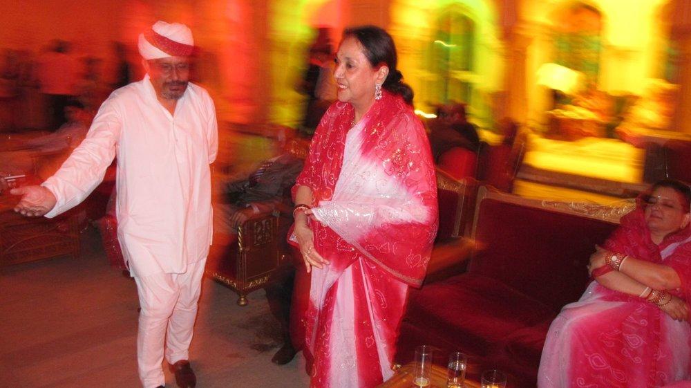Maharani of Jaipur, Padmini Devi   City palace of Jaipur   Private party   Royal family   ©sandrine cohen