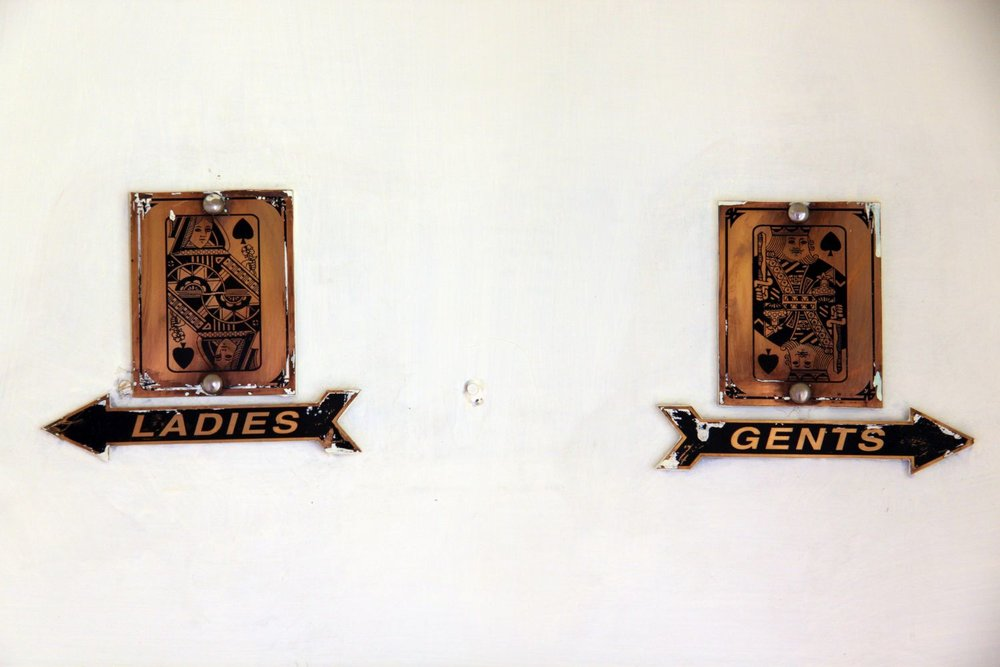 Jaipur   India   Rajathan Polo Club   Rambagh Polo Club   Toilets for Ladies   ©sandrine cohen