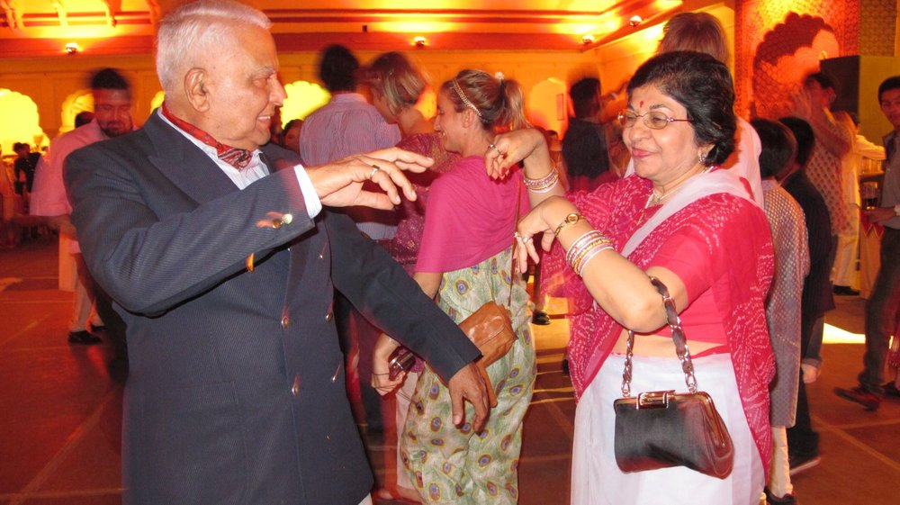City palace of Jaipur   Royal family   Private party   Dancing   ©sandrine cohen