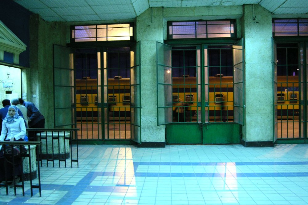 Alexandria | Alexandria Station | Wickets railway station Alexandria | Egypt | ©sandrine cohen