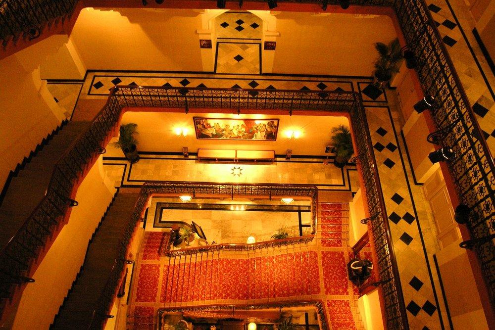 Taj Mahal Hotel Mumbai | Taj group | The staircases | ©sandrine cohen