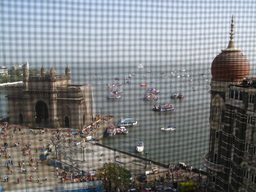 Taj Mahal Hotel Mumbai | view of the Gateway of India from the room | Taj group | Gateway of India | ©sandrine cohen