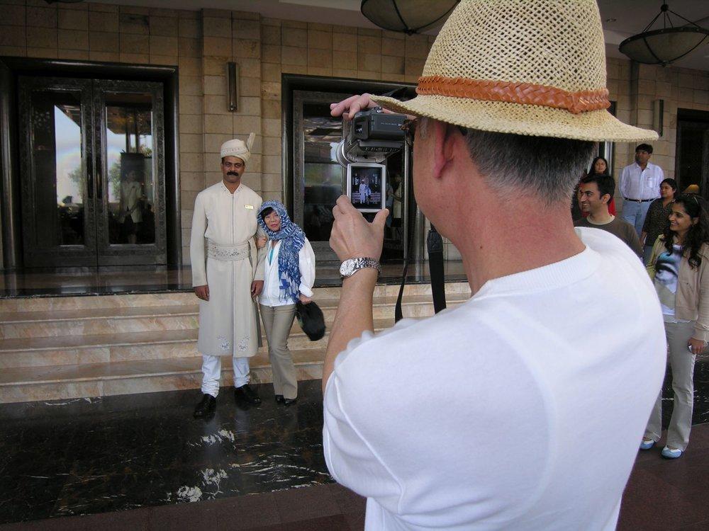 Taj Mahal Hotel Mumbai | Touristes | Taj group | ©sandrine cohen