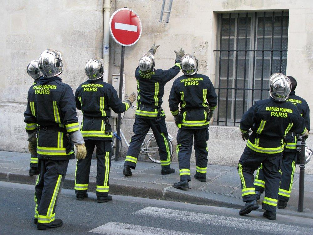 Pompiers de Paris | Firefighters of Paris | Intervention of Paris firemen | Photo sandrine cohen