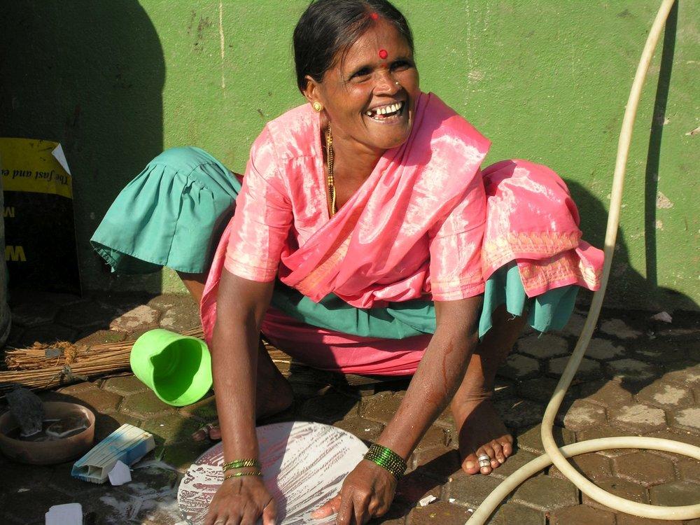 Dharavi | Mumbai - Bombay | India | Dharavi, the biggest slum of Asia | Over one million people live in Dharavi |©sandrine cohen